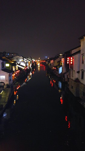 Night view of South Long Street(南长街)