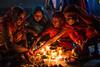 Kartik Purnima rituals - Sonepur, India (Maciej Dakowicz) Tags: light india night women religion celebration ritual hindu mela bihar sonepur gandak sonpur kartikpurnima