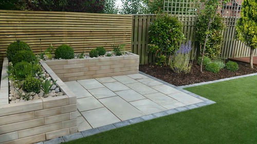Landscape Gardening Wilmslow -  Decking Paving and Artificial Lawn Image 15
