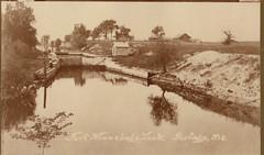 Ft Winnebago Lock and Surrounding Countryside