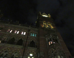 St Pancras Hotel (DncnH) Tags: london night hotel nightshot gothic victorian neogothic stpancras nw1 londonatnight