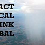 Sustainability poster - Act local think global thumbnail