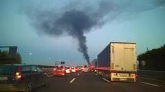 WP_20151020_005 (Luigi Mengato) Tags: incendio autostrada incidente