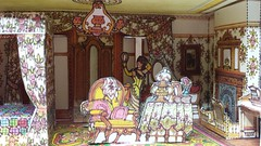 The Bedroom (italiantime) Tags: victorianhouse paperdolls
