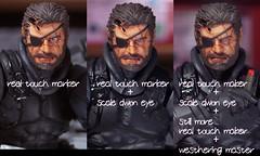 venomsnake face retouch & surgery (Toyman_) Tags: actionfigure custom kaiyodo metalgearsolid revoltech venomsnake retocth