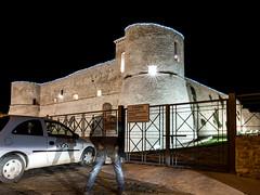 Ghost of the Ortona Castle (Giulio Gigante) Tags: leica italy colors night port harbour ghost porto abruzzo giulio ortona eccoqua