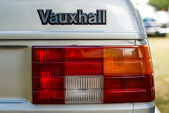 tails (Burnt Out Chevrolet) Tags: auto show new light red orange white classic lamp field car vintage silver boot 50mm bay amber cool sony wheels retro zealand badge 80s nz trunk 1981 vehicle windsor cavalier brake hastings reverse alpha a200 1980s depth hb vauxhall 81 indicator hawkes