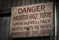 Sign in Abandoned Shipyard, Cockatoo Island (tik_tok) Tags: abandoned island factory sydney australia unescoworldheritagesite nsw newsouthwales shipyard derelict cockatooisland