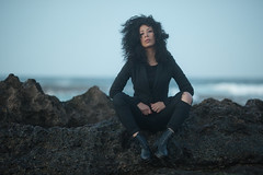 Lola (aminefassi) Tags: portrait people beach fashion rock morocco maroc 5d mode rabat 135mm 135mmf2l 135mmf2 aminef aminefassi lolacastel