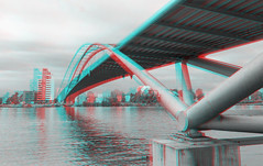 Basel, Switzerland in 3D anaglyph (Alexander Savin) Tags: switzerland stereoscopic 3d anaglyph basel stereo stereography stereo3d