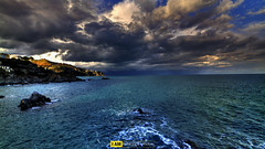 Nature in Blue (Francesco Grisolia) Tags: travel blue winter sea sky italy panorama beach nature colors clouds lens landscape photo reflex nikon europe flickr italia mare foto highdefinition february inverno calabria spiaggia notripod paesaggio febbraio spiagge 2015 highquality suditalia nikonclub nikonusa natureinblue d7100 1116mm nikonitalia nikoneurope iamnikon nikonclubit nikond7100 naturainblu