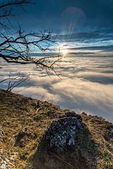 Hohe Wand Beach (Wim Air) Tags: morning sunset mountain alps fog clouds sunrise austria wand lower bernhard hohe wimmer wimairat