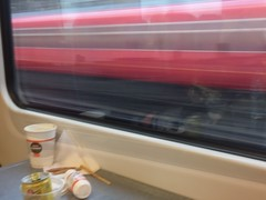 22 of 366 - Train journey (Mark J Pearce) Tags: travel blur london train day22 3662016jan
