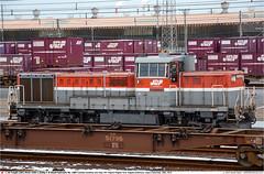JRF_DE10-1687GB_HigashiNiigata_201214 (Catcliffe Demon) Tags: japan railways jrf jrfreight dieselhydraulic niigataprefecture de10 jr de101500 japanrailimages2014