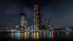 Rotterdam by night (John_65) Tags: night rotterdam kopvanzuid hotelnewyork