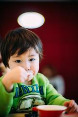 It's time for ice cream? (: // Paul Ngan) Tags: portrait kids portraits 50mm dof sony depthoffield icecream f11 a7 hoyin vsco msoptical