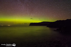 Aurora, Loch Pooltiel, Isle of Skye (Andy Stables) Tags: skye canon lights scotland glendale aurora loch northern borealis 70d pooltiel milovaig meanish