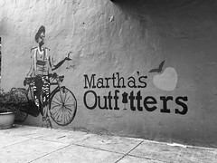 Martha's Outfitters (IamJomo) Tags: blackandwhite bw monochrome washingtondc iphone jomo takenwithaniphone iphoneography iphone6 marthasoutfitters snapseed smallworldphotos jomophoto
