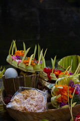 Tirta Empul Offerings (Triple_B_Photography) Tags: world travel bali colour green tourism beautiful leaves closeup contrast canon wonderful indonesia asian temple eos amazing interesting intense flora asia paradise god zoom vibrant traditional faith prayer religion ceremony culture warmth lifestyle tourist celebration explore journey zen elements saturation 7d tropical specialoccassions local indah ornamental hindu hinduism incredible scent dupa offerings balinese lokal ceremonial 2015 tirtaempul