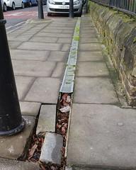 needs fixing - reported to LBTH (Carol B London) Tags: road tarmac roadworks cobblestones e1 stepney londone1 towerhamlets stepneygreen eyesores lbth