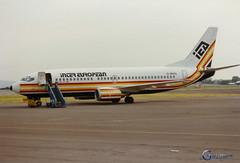 G-BNGL Boeing 737 3Y0 (Gary J Morris) Tags: european boeing airways 737 iea inter brs bristolairport lulsgate 23924 eggd 3y0 gbngl bristollulsgateairport 24061989