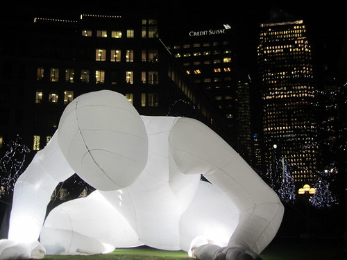 UK - London - Winter Lights 2016 - Canary Wharf - 'Fantastic Planet'