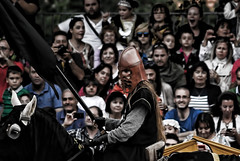 The Black Knight (M. Martn Gmez) Tags: espaa festival spain nikon medieval fantasy knight avila caballero  fantasa
