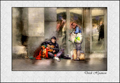 HOMELESS ? (Derek Hyamson) Tags: liverpool candid impression hdr