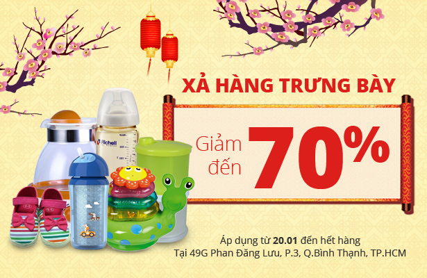 Xả hàng trưng bày - Giảm đến 70% duy nhất tại 49G, Phan Đăng Lưu, P3, Q.Bình Thạnh, TP.HCM