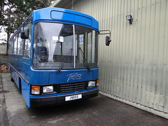 Tantivy 23 (Coco the Jerzee Busman) Tags: uk blue bus islands coach jersey channel tantivy