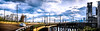 PDX Steel Bridge Max Line Pano small (Mason Lake Photography) Tags: new city bridge light lake max building eye art beautiful car architecture clouds oregon buildings portland fun photography photo amazing exposure cityscape steel pano mason fine picture structures like rail places pic panoramic follow vision transportation pdx moment lightrail capture striking share panoram masonlakephotography masonlakephotocom