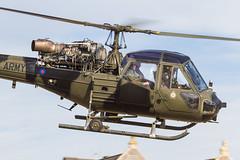 AAC Historic Flight Westland Scout AH.1 XT626/G-CIBW 'Q' (Hugh Dodson) Tags: beach airshow q westland westonsupermare aac airday xt626 scoutah1 gcibw armyaviationcorpshistoricflight