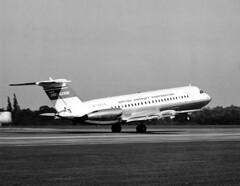 BAC 1-11 Press Photo 2 (Steve Guess) Tags: plane airplane aircraft jet 111 airliner bac brooklands oneeleven hern