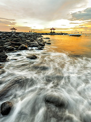 TWB_9672 (xxtreme942) Tags: sunset sea sky bali cloud beach indonesia candidasa