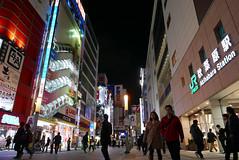P1020054.jpg (Ryosuke Yagi) Tags: building night buildings tokyo town view shot nightshot scene electronics  akihabara nightscene nightview electronic   electronictown