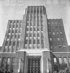 Municipal Building in Ogden, Utah (Shaun Nelson) Tags: 120 film vintage utah lomo lomography ut retro 120film filmcamera otown anscoflex ogden ansco filmphotography anscoflexii utfp utahfilmphotography utahfilmphotographycom