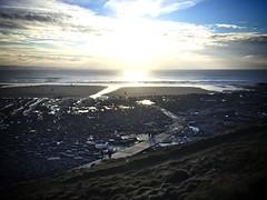 Overlooking Southerndown (zedkay) Tags: sea beach southwales wales rocks overlooking southerndown bristolchannel heritagecoast