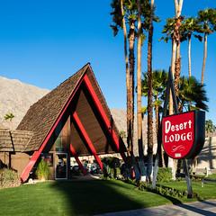 Desert Lodge (Chimay Bleue) Tags: desert palmsprings modernism palm lodge springs frame modernist