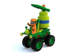 Biotron Irrigator (David Roberts 01341) Tags: lego space rover scifi buggy ldd biotron febrovery bluerender