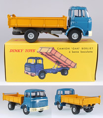 DIF-A-585-Berliet (adrianz toyz) Tags: france truck french toy toys model tipper atlas dinky diecast berliet 585