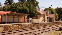 Strathalbyn Railway Station in Colour (C.W.Jenkins) Tags: railway strathalbyn strath