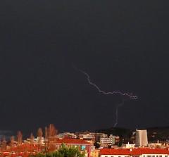 Ancona, Marche, Italy - Fulmine -thunderbolt-  by Gianni Del Bufalo (CC BY-NC-SA) (bygdb - Gianni Del Bufalo (CC BY-NC-SA)) Tags: radio lightning rayo blitz temporale thunderbolt lampo raio baleno lampi fulmine yldrm saetta   bliksemflits fulmineo  coupdetonnerre   kulog