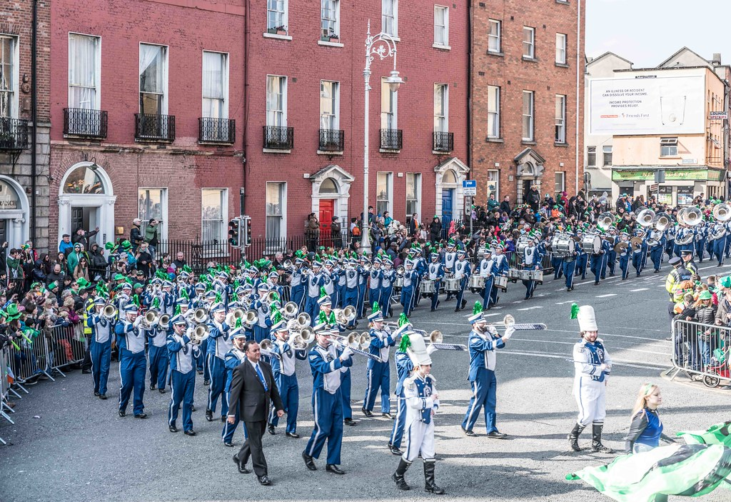 THE OLD DOMINION UNIVERSITY MONARCH MARCHING BAND [ST. PATRICK'S PARADE 2016]-112629