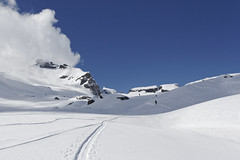 (Horace T) Tags: mountain snow alps montagne alpes canon hiking snowboard neige randonne splitboard efs1022mm plat eos60d