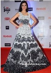 Divya Khosla wore a Full Skirt Rami Kadi Gown at Filmfare Awards (shaf_prince) Tags: gowns eveninggowns bollywoodactress bollywoodsarees filmfareawards celebritydresses sleevelessdresses divyakhoslakumar bollywooddesignerdresses actressingowns actressinwhitedresses filmfareawards2016