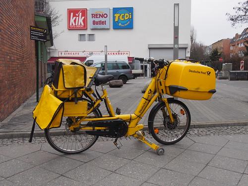 Fahrrath der Deutsche Post