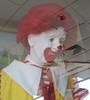 Ronald McDonald Figure (TedParsnips) Tags: california mannequins fastfood restaurants mcdonalds pasadena ronaldmcdonald nightterrors