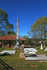 Shrouded Obelisk (redhorse5.0) Tags: cemetery spring bluesky graves gaveyard monuments springfoliage marbleslabs sonya850 redhorse50 tombsons