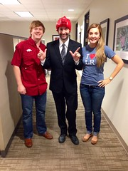 Andrew, a Tax Manager, Forced to Wear a Hog Hat After a Texas Tech Loss
