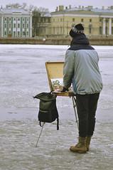 The boy who draws lions (kateshamova) Tags: artist russia painter saintpetersburg leningrad